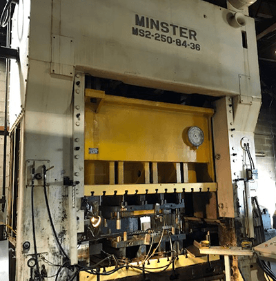 250 TON MINSTER PRESS